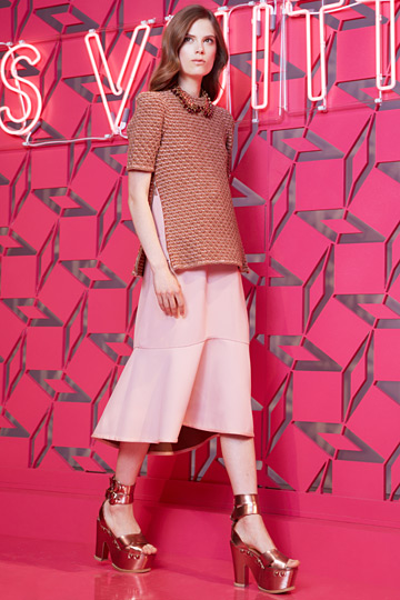 modelos usam nova coleção Louis vuitton 2013