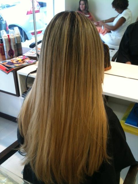 cabelo após o tratamento