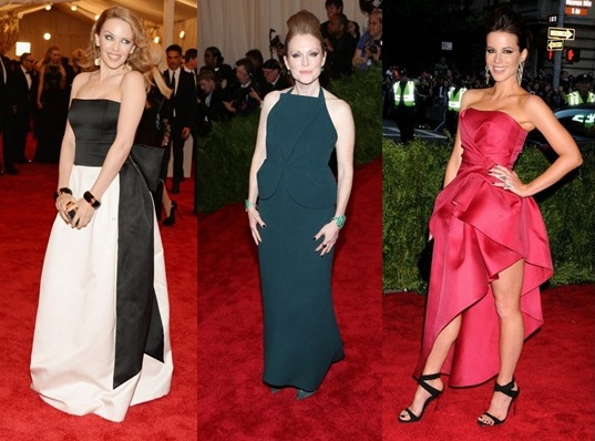 KYLIE MINOGUE, JULIANNE MOORE E KATE BECKINSALE
