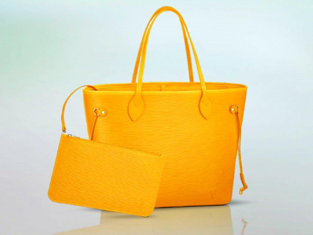 Louis-Vuitton-Citron-Epi-Neverfull-MM-Bag