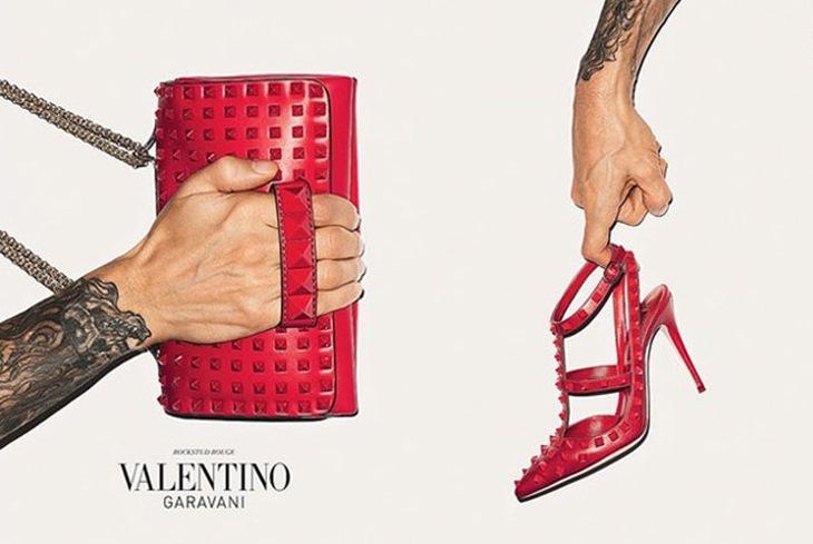 Red Rockstud Valentino  (2)