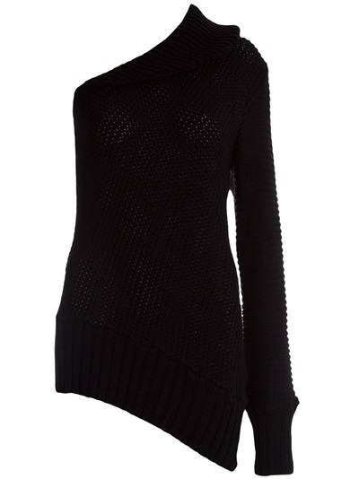 BLUSA TRICOT ASSIMETRICA TRENDT. R$440,00