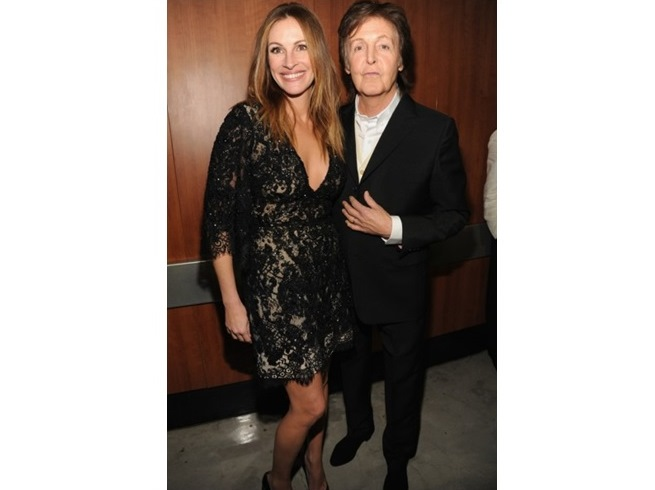 JULIA ROBERTS E PAUL McCARTNEY