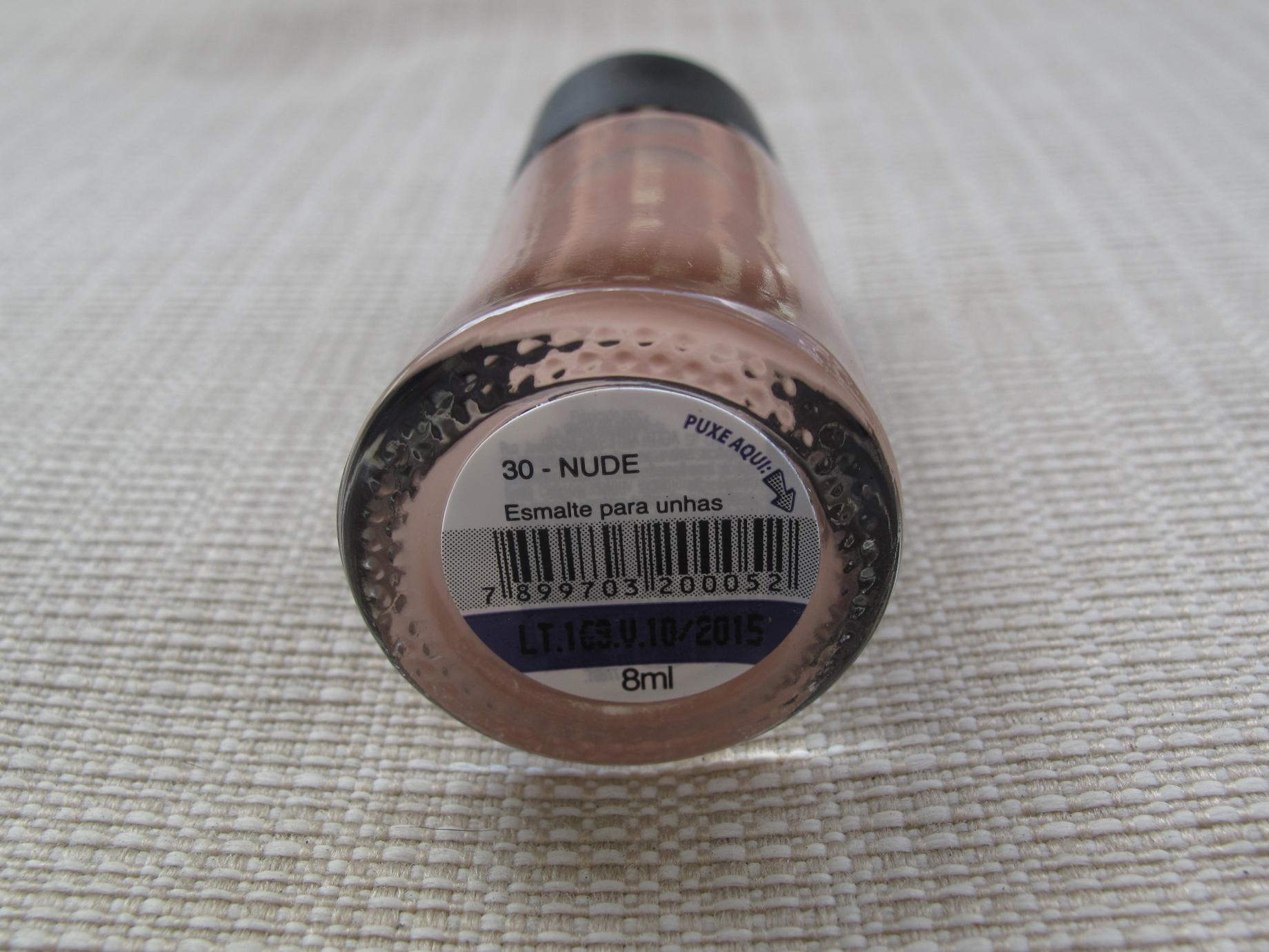 Beauty Lab - 30 Nude - Rótulo
