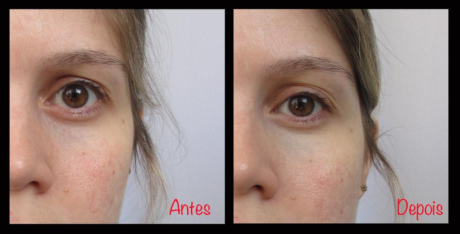 Benefit - Fake Up - Antes e Depois