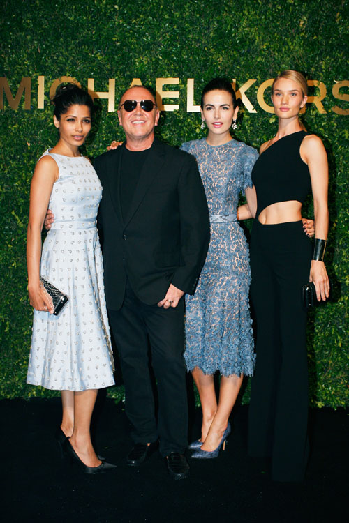 FREIDA PINTO - MICHAEL KORS,CAMILLA BELLA E ROSIE HUNTINGTON-WHITELEY