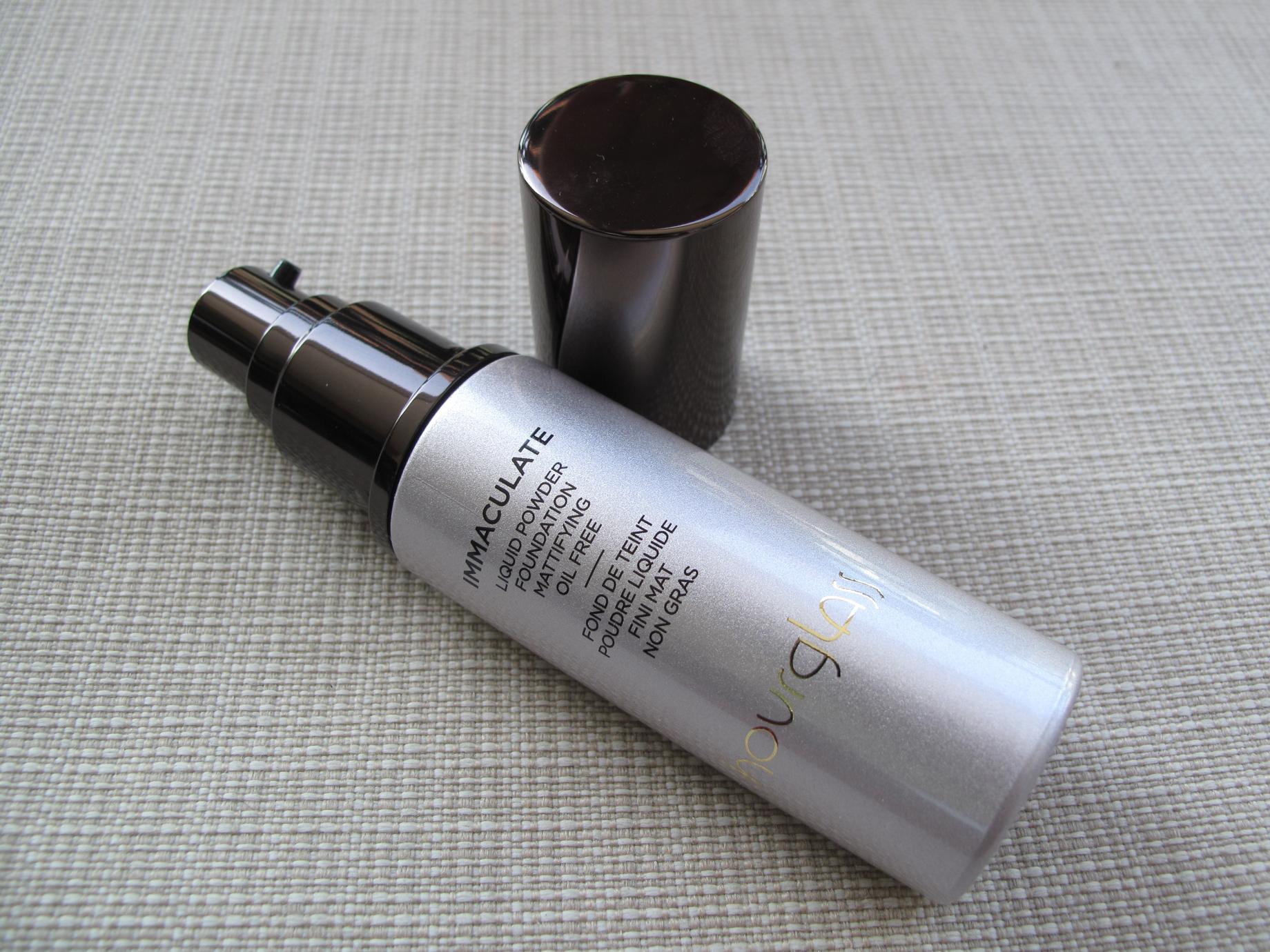 Hourglass Immaculate Liquid Powder Foundation - Aberto
