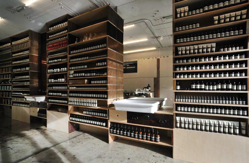 uma das lojas Aesop imagem: divulgação
