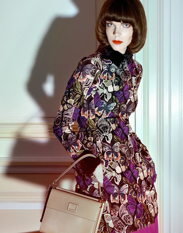 Meghan Collison - Harper's Bazaar Singapura de Julho foto: Yu Tsai