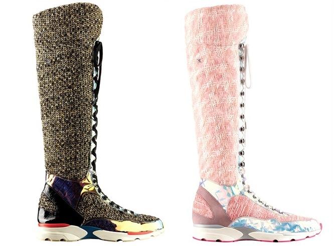 Couture Sneakers de chanel imagem: divulgação