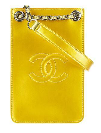 Case para Iphone da Chanel - coleção Primavera-Verão 2014