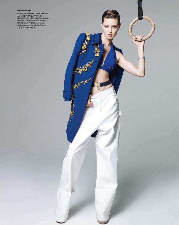 foto: Magi Sakai para Vogue Coreia