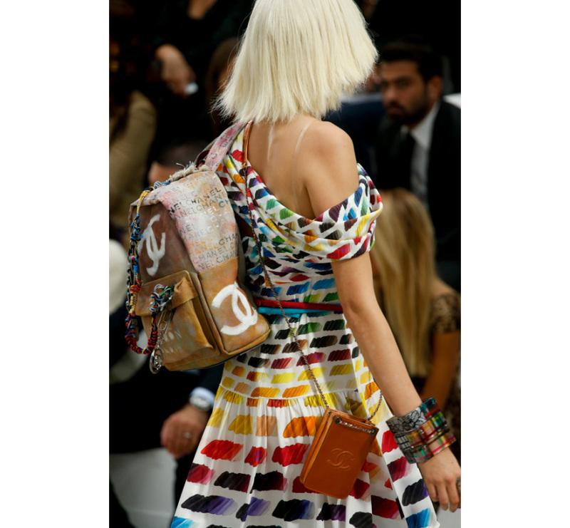 Foto desfile Primavera-Verão 2014 Chanel