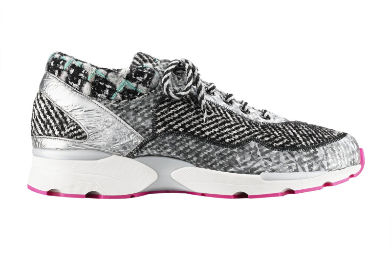 Couture Sneaker de chanel imagem: divulgação