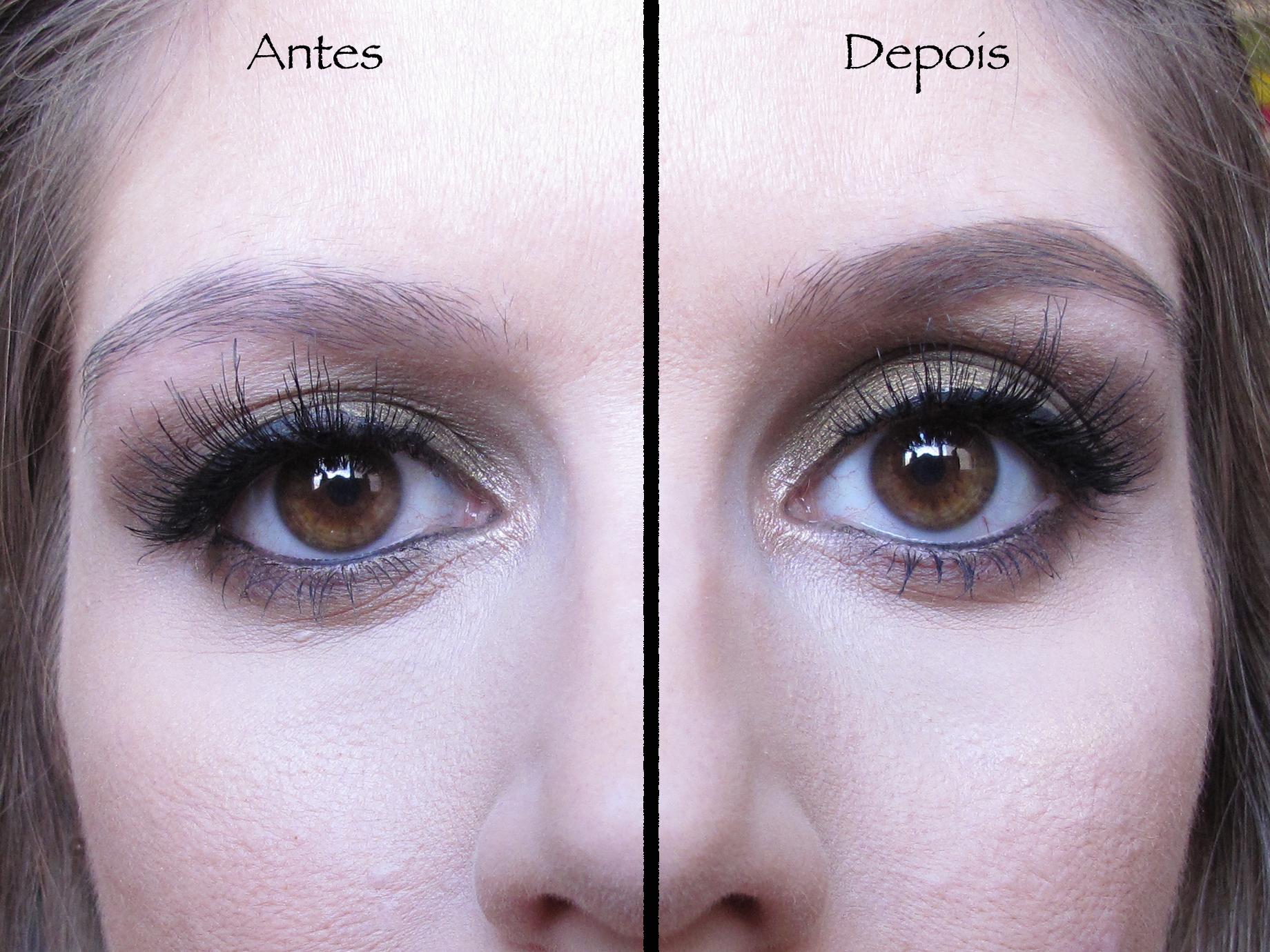 Contém 1g - Corretivo em pasta para sobrancelhas - Antes e depois 1