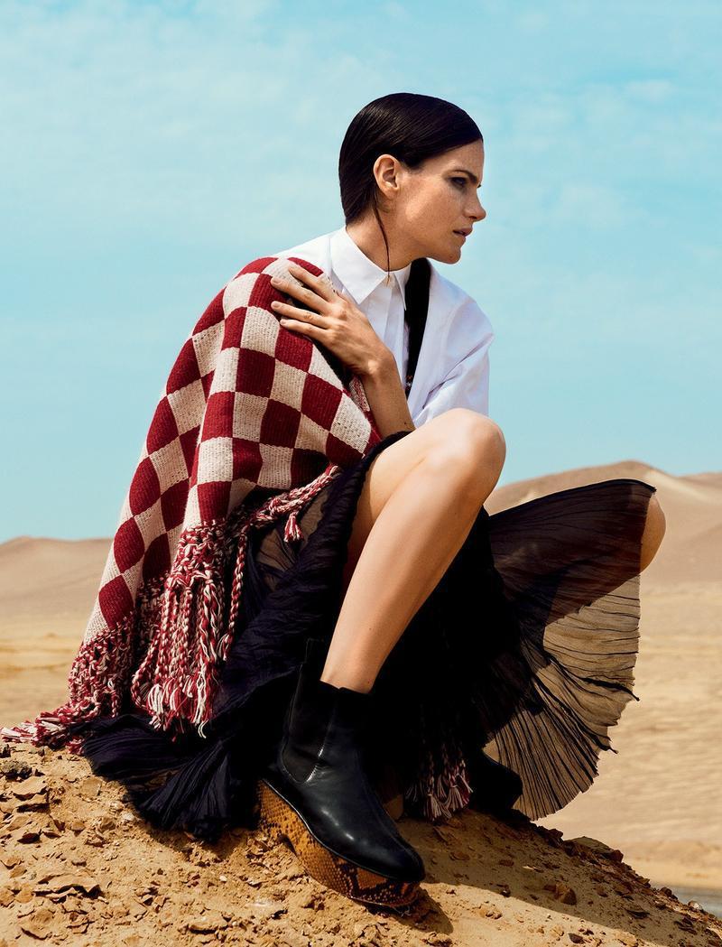 foto: Alexander Neumann para Harper's Bazaar Rússia