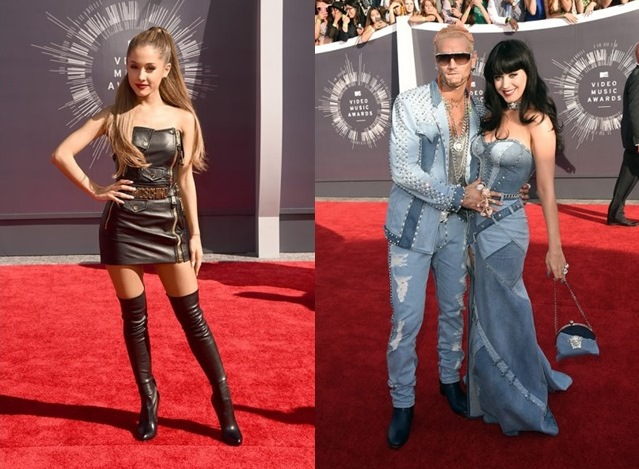 Ariana Grande - foto instagram Riff Raff e Katy Perry - foto Getty Images
