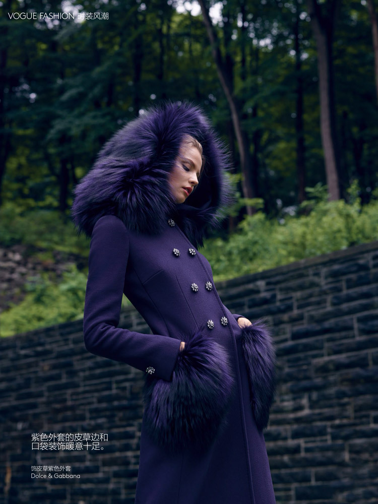 foto: Nathaniel Goldberg / Vogue China Setembro 2014