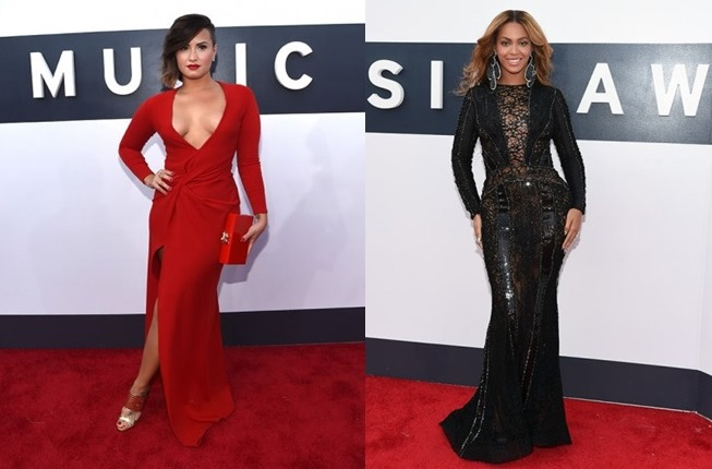 Demi Lovato e Beyoncé - foto Getty Images