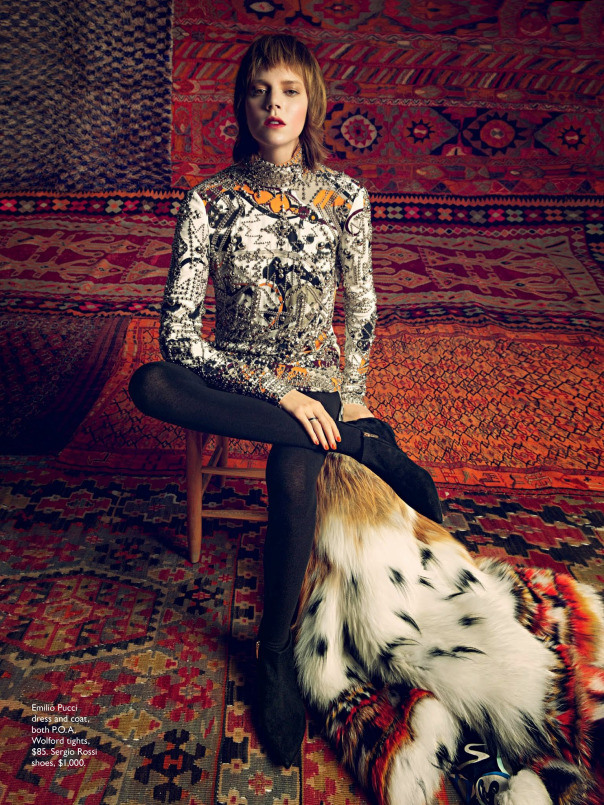 foto: Inez Van Lamsweerde e Vinoodh Matadin - Vogue Austrália