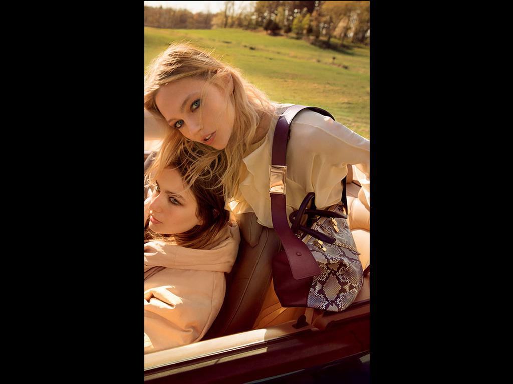 imagem: montagem blog buyer & brand Foto: Inez Van Lamsweerde e Vinoodh Matadin / Chloé