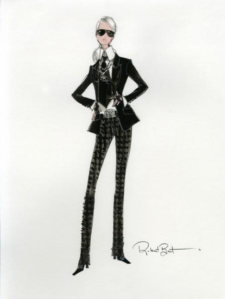 Barbie Lagerfeld Imagem: divulgação