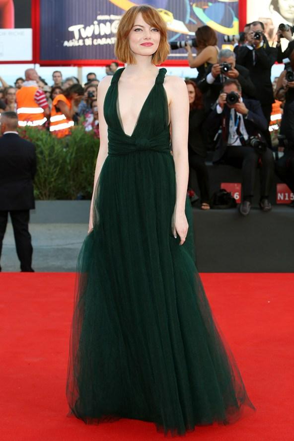 Emma Stone - Valentino Couture imagem: reprodução