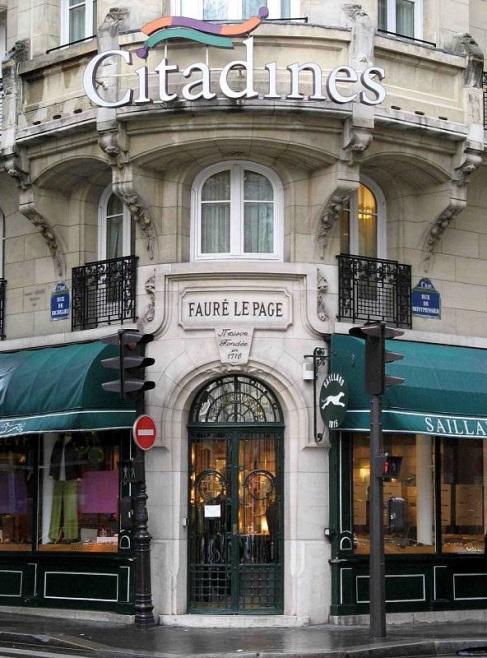 Loja Fauré Le Page - Paris