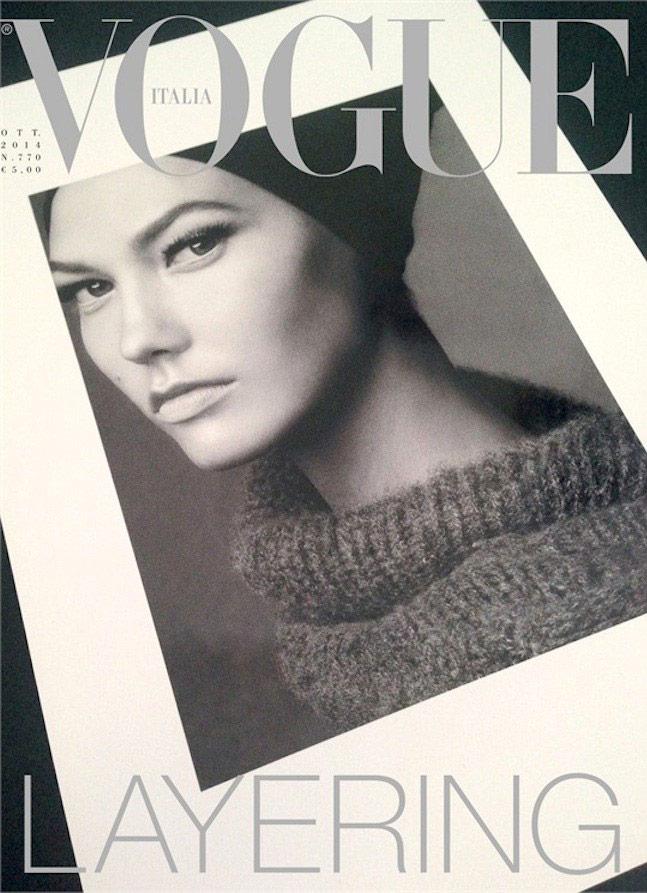 Vogue Itália - Outubro 2014 foto: Steven Meisel