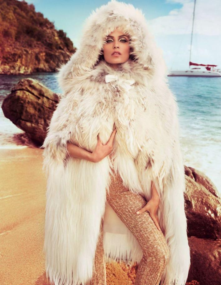 Natasha Poly - Vogue Paris Novembro foto: Inez & Vinoodh
