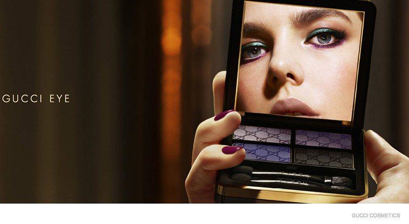 Gucci cosméticos - Charlote Casiraghi foto - divulgação