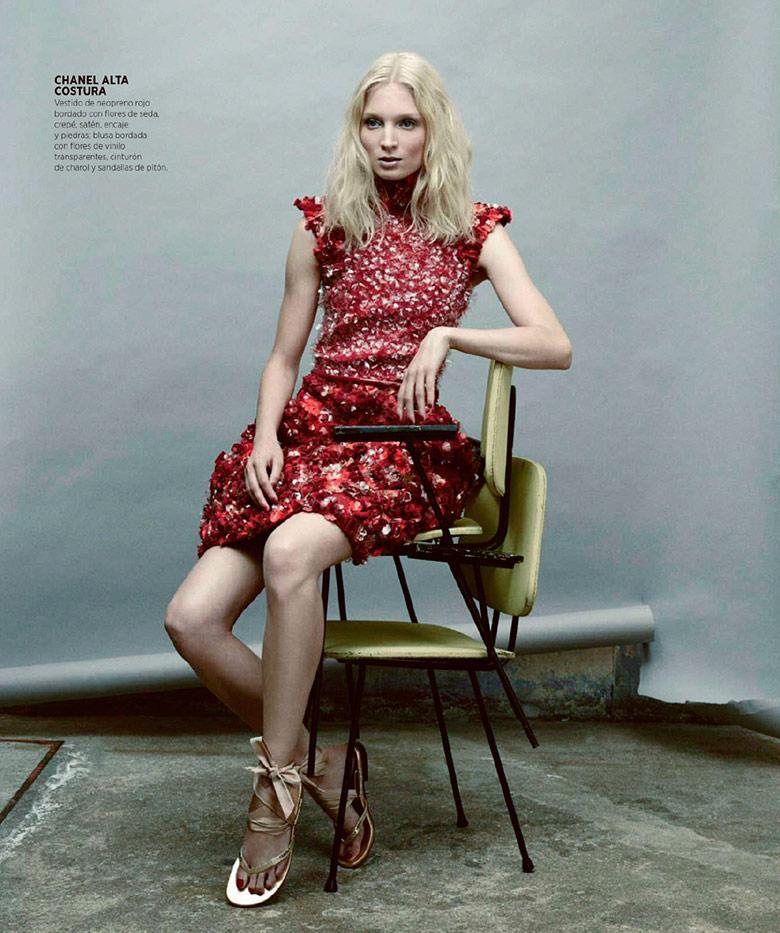 Harper's Bazaar Espanha foto: Nicolas Valois