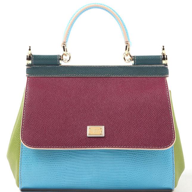 bolsa Sicília - Dolce & Gabbana imagem: divulgação