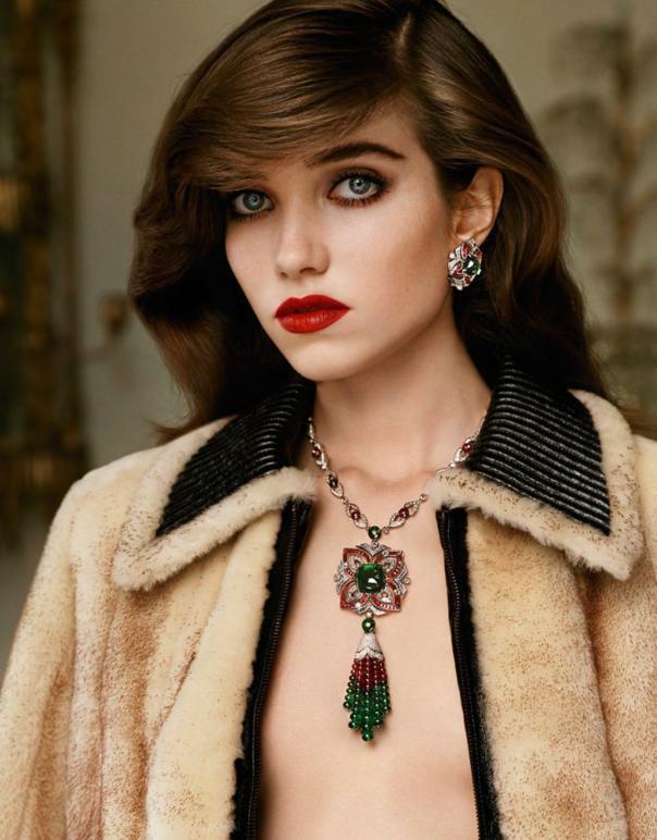 Vogue Paris Outubro foto: Alasdair McLellan