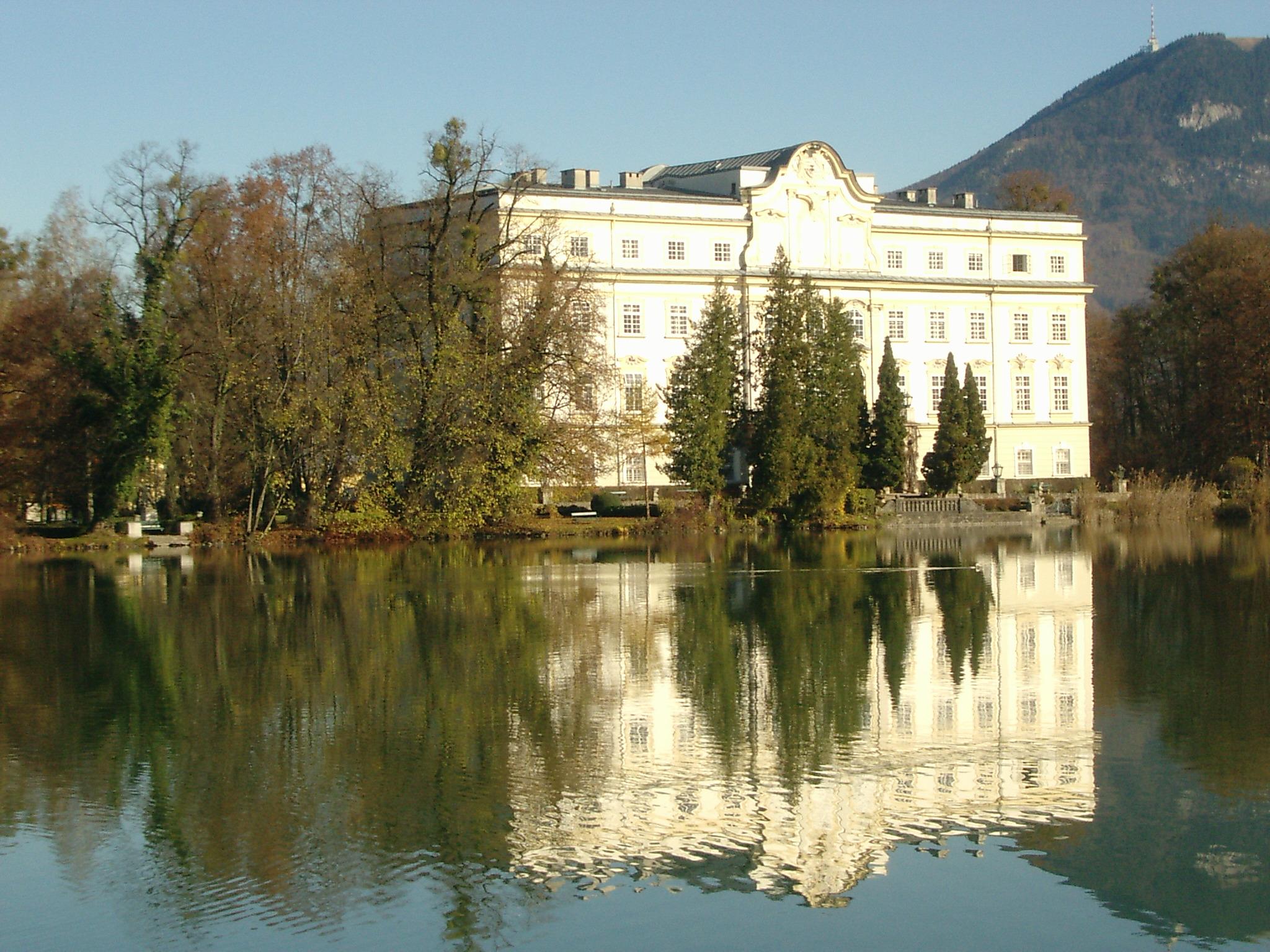Palácio Schloss Leopoldskron - Áustria imagem: reprodução