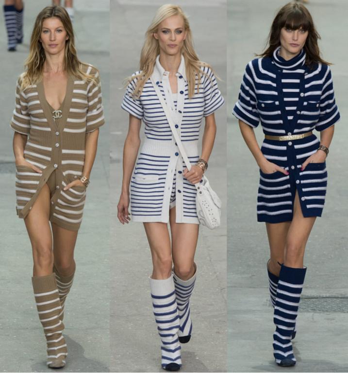 Chanel - Desfile de Verão 2015 imagem: reprodução