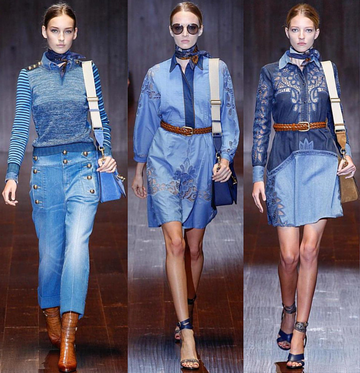 Gucci - Desfile de Verão 2015 imagem: reprodução