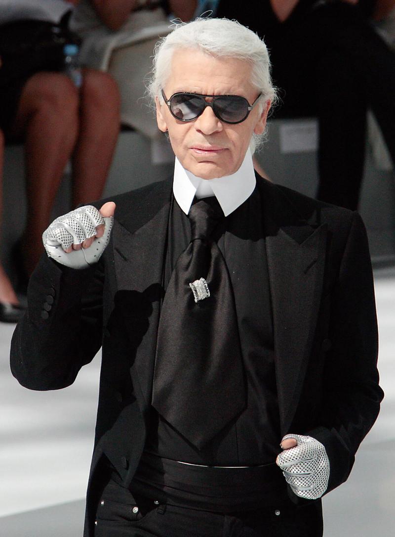 Karl Lagerfeld imagem: reprodução