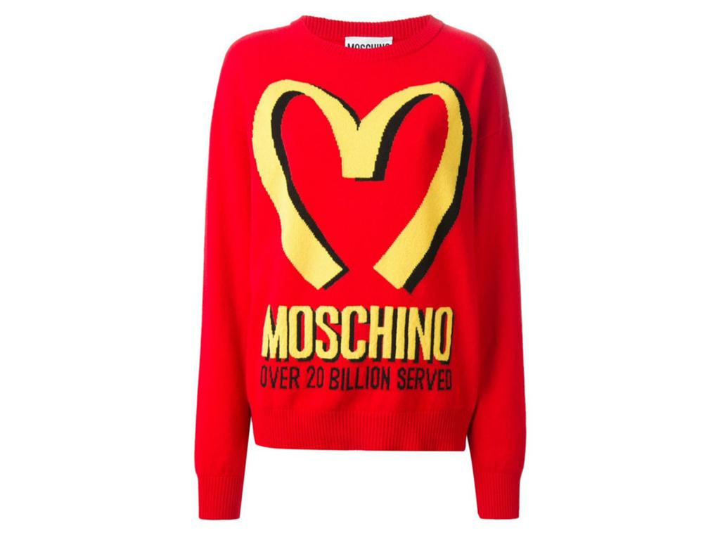 12- Moletom Moschino $2.630,00 ( aqui )