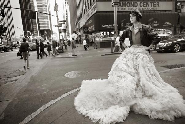 Vogue Paris Novembro foto: Glen Luchford