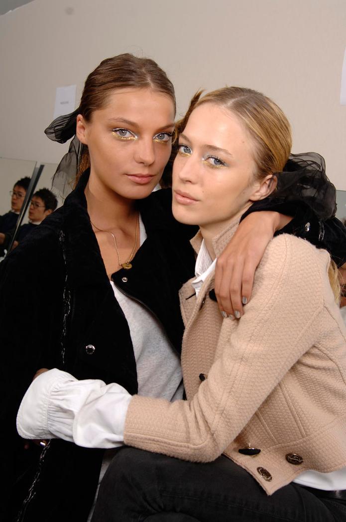 Daria Werbowy - Chanel Verão 2007 foto: Greg Kessler