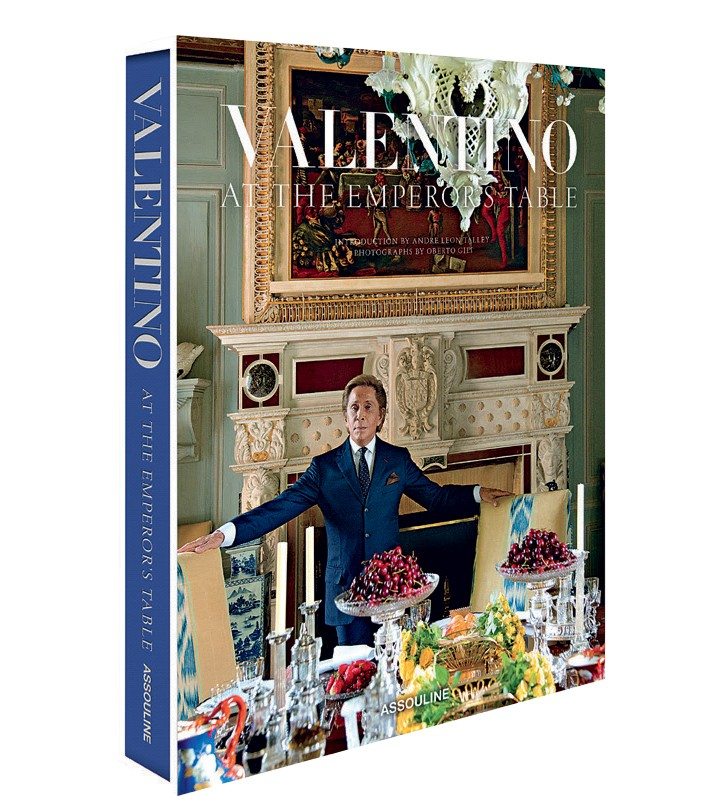 Foto do livro At the Emperor's Table - editora Assouline imagem: divulgação