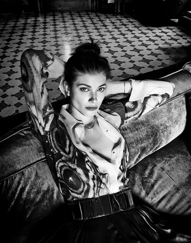 Vogue Alemanha - Edição de Dezembro foto: Giampaolo Sgura