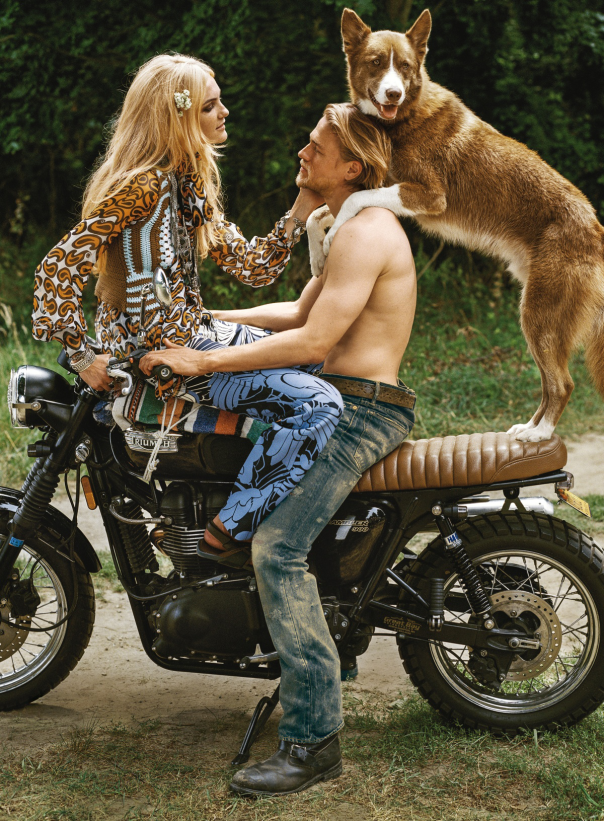 Vogue US Dezembro foto: Bruce Weber