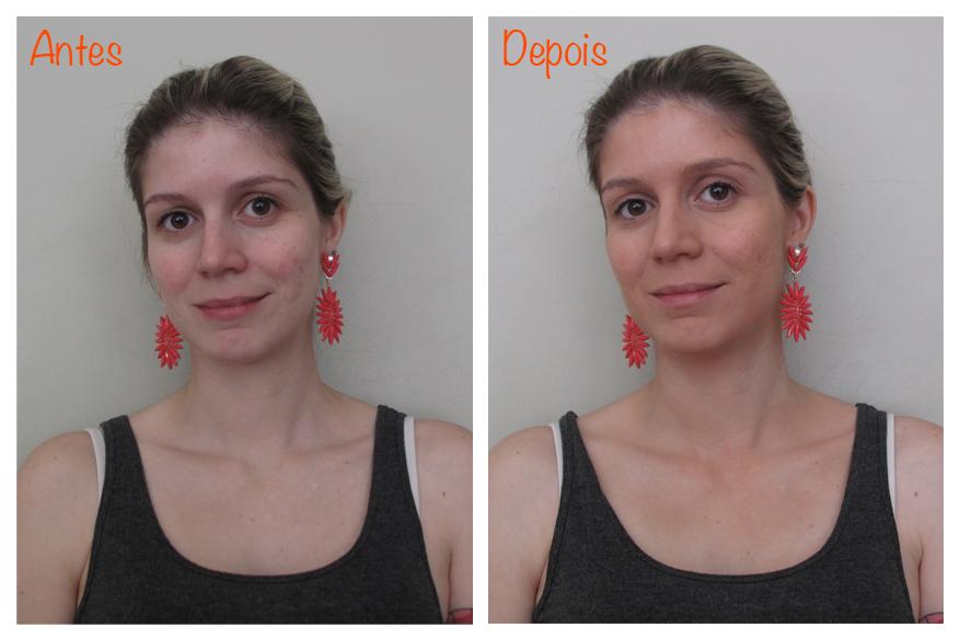 BB Cream Bronzer - Antes e Depois