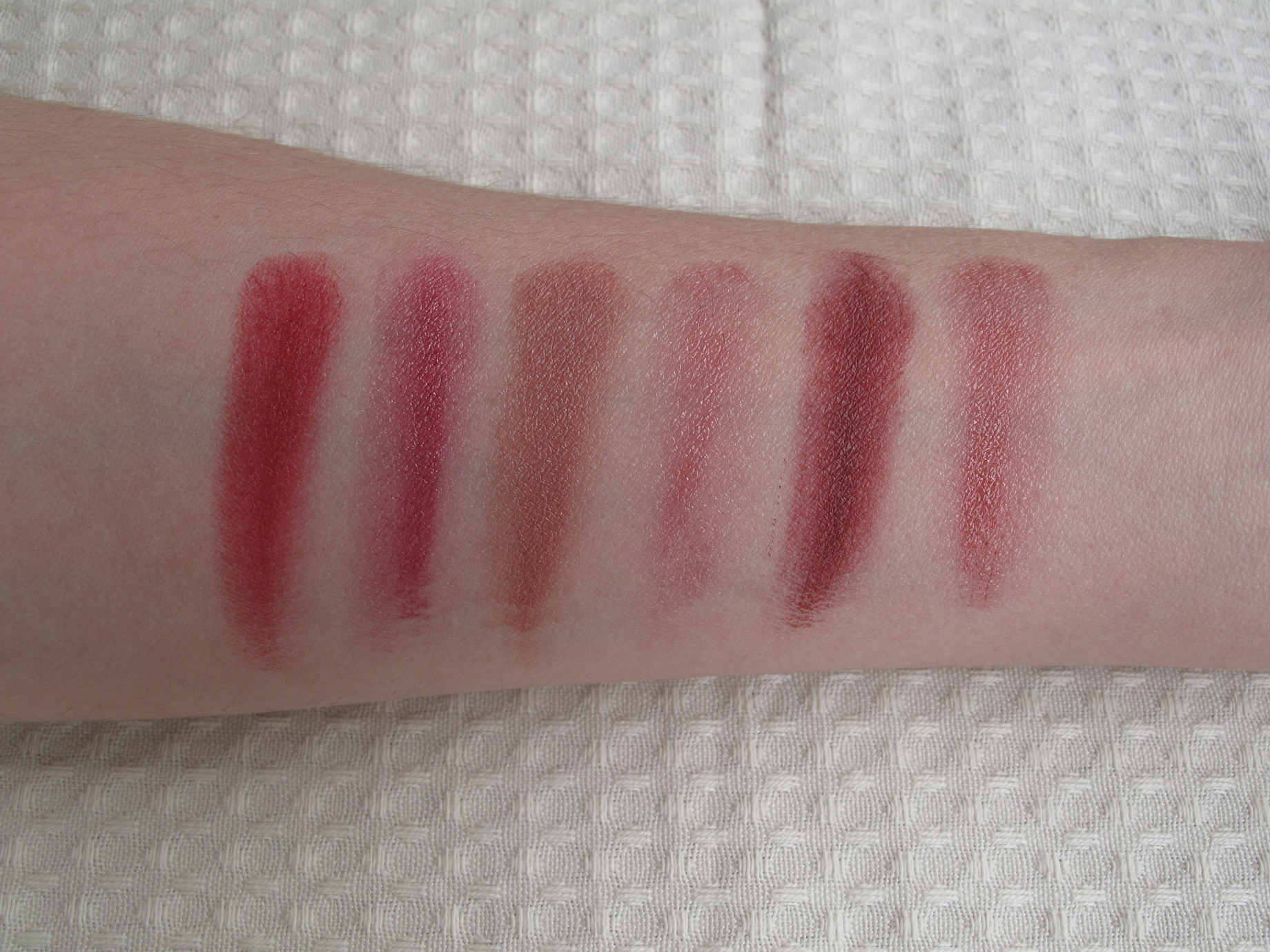 Mac - Paleta Viva Glam - Swatch