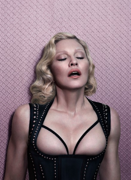 Madonna - Revista Interview foto: Mert & Marcus