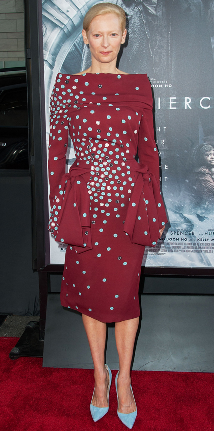A cor Marsala no Red Carpet de 2014 imagem: Getty Images