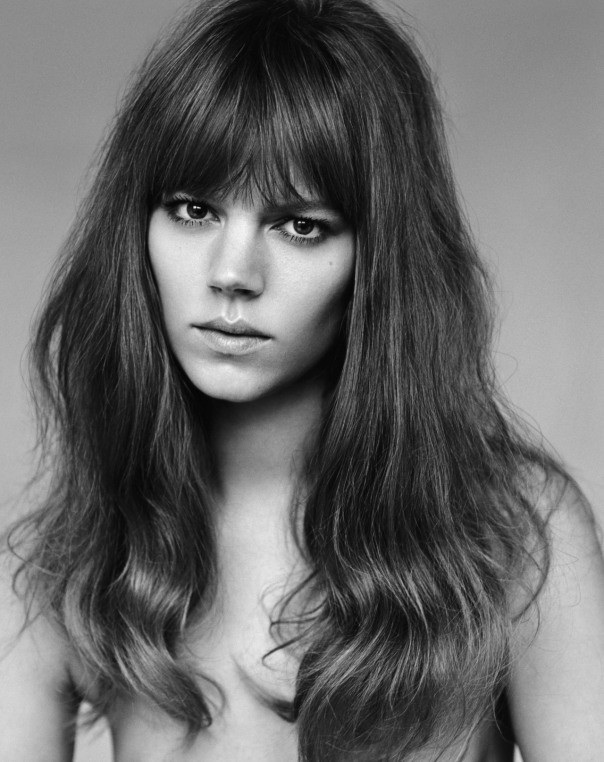 Freja Beha Erichsen - Vogue UK Janeiro 2015 foto: Alasdair McLellan