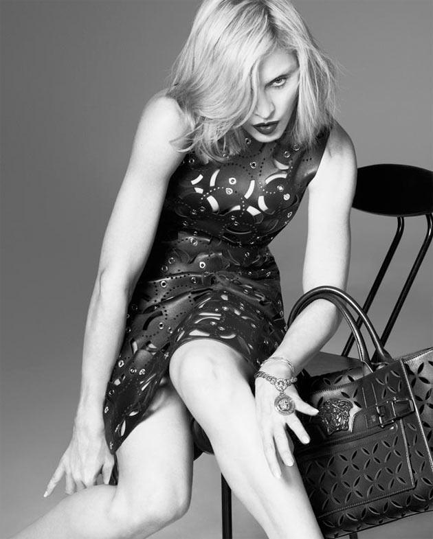 Madonna - Coleção Primavera-verão 2015 da Versace imagem: divulgação